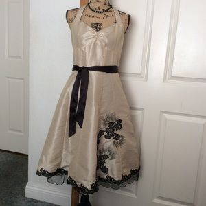 JS collection beautiful party dress